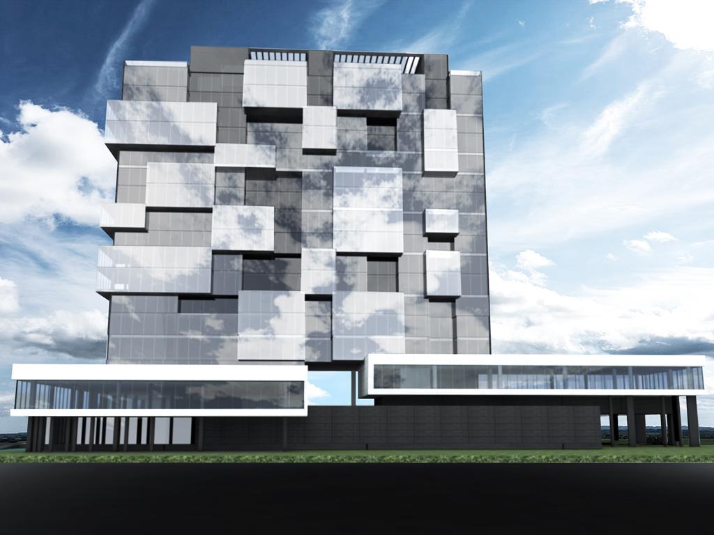 Business hotel b 03 architecture design studio next for Business hotel design